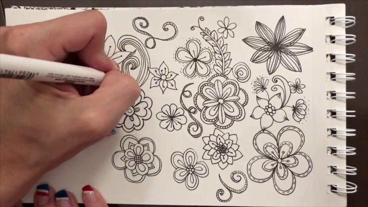 Zentangle Nature Girl 1 Doodling Doodle Drawings Doodle Girl Doodle Videos