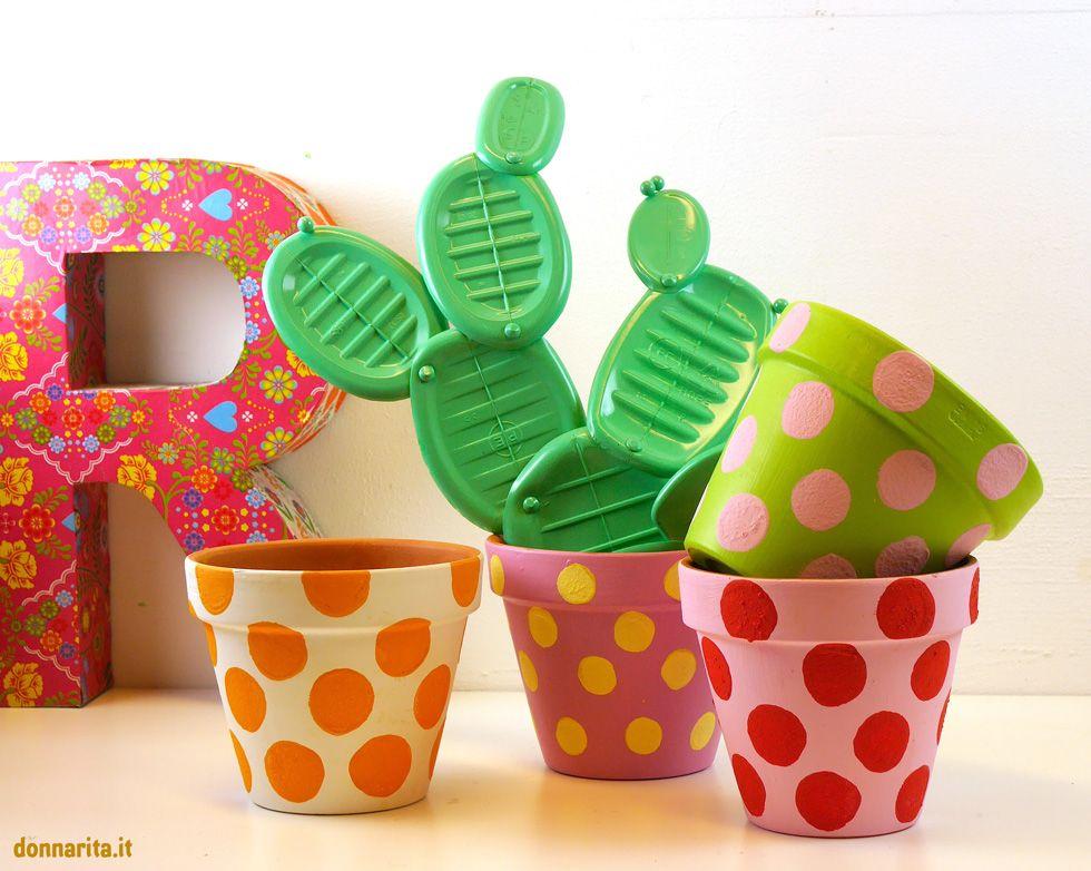 risultati immagini per come decorare vasi di plastica per