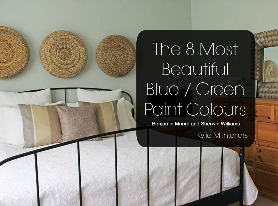 8 Most Popular Blue Green Paint Colours (mix) : Sherwin Williams and  Benjamin Moore