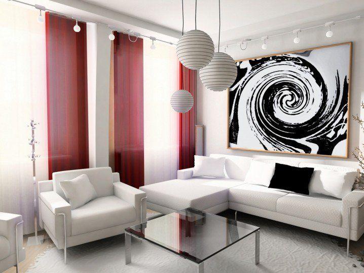 17 Modern Curtain Ideas For Your Dream Home   Top Dreamer   Wohnzimmer einrichten, Wohnzimmer ...