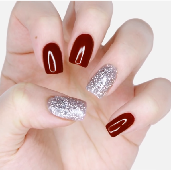 How To Apply Remove Rossi Glam Powder Red Nails Dip Powder Nails Neutral Nails