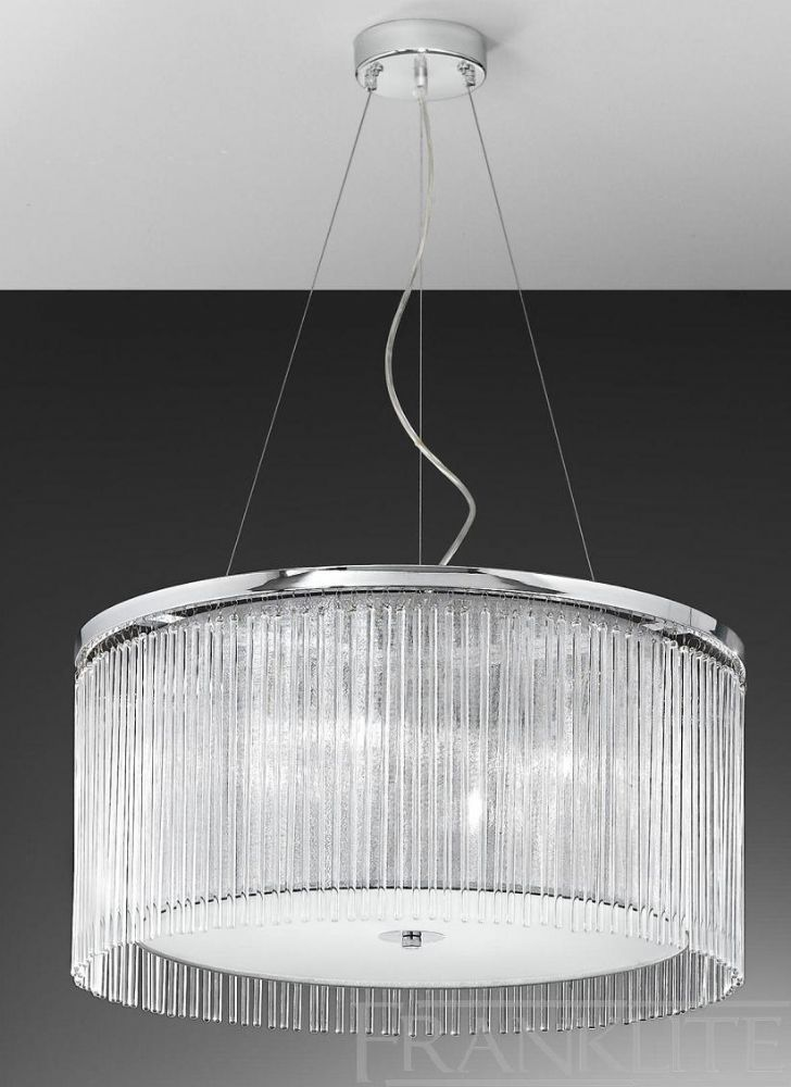 The Eros 4 Light Pendant by Franklite Lighting is available from Luxury Lighting - approved Franklite & Eros 4 Light Ceiling Light Pendant - Franklite Lighting | Chrome ...