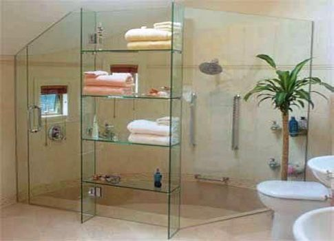How To See Through Bathroom Glass. If Youre A Homeowner Or A Renter You Already Know How Important It Is To Have Adequate Shelving In Your Bathroom To Keep Track Of All Your Grooming
