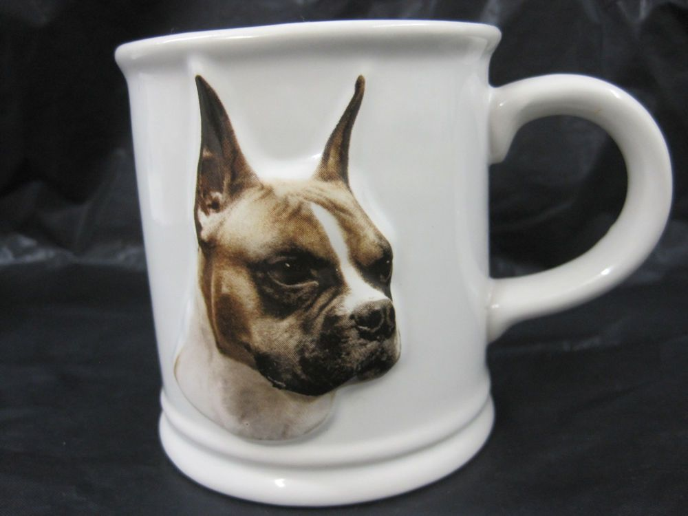 Boxer 3D Cup Mug Container Coffee Tea Dog Show Puppy Animals Xpres Best Friend