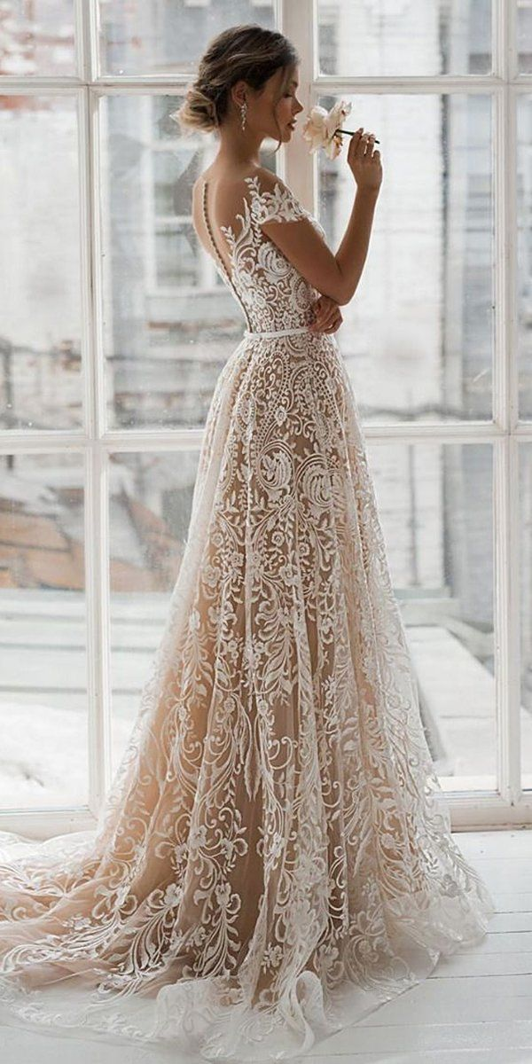 36 Lace Wedding Dresses That You Will Absolutely L
