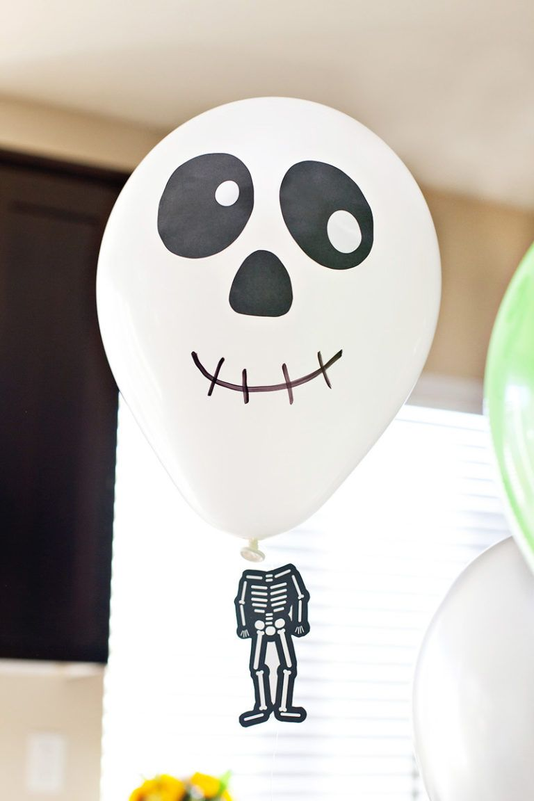 Diy Halloween Balloons With Floating Heads Teaching Halloween