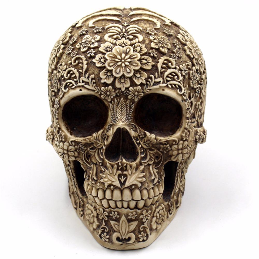 Rosy Skull Home Decor | Skull decor, Skull, Human skull