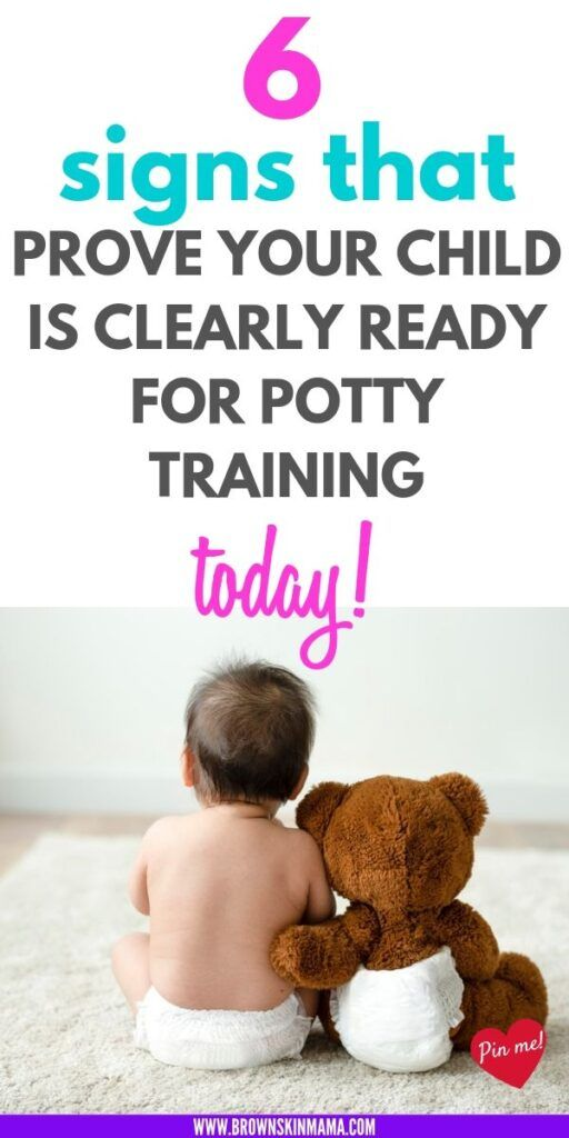 Signs Your Child is Ready to Potty Train | Potty training ...