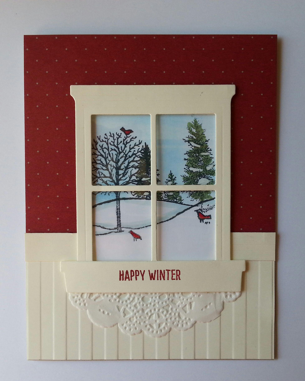 Happy scenes stamp set hearth u home thinlits die easy breezy