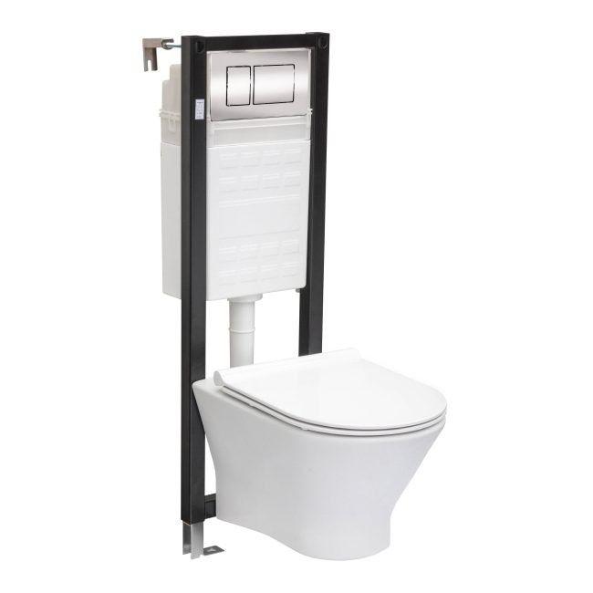 Zestaw Podtynkowy Wc Roca Nexo Slim Zestawy Podtynkowe Slim Toilet Bathroom