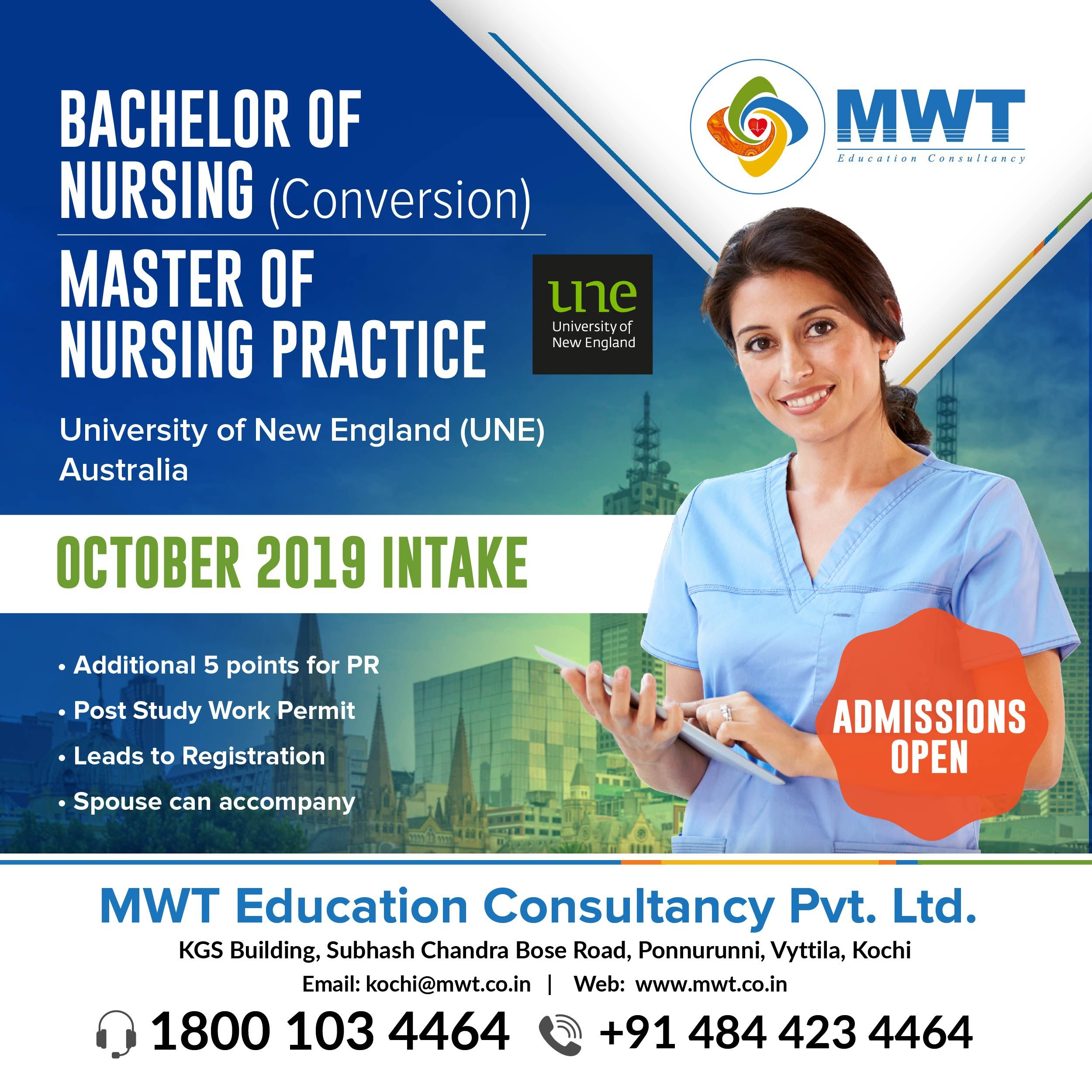 Une nursing programs overseas education bachelor