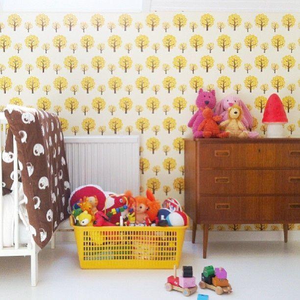 Retro Behangpapier Kinderkamer.Retro Kinderkamer Retro Look Kinderkamer Ideeen