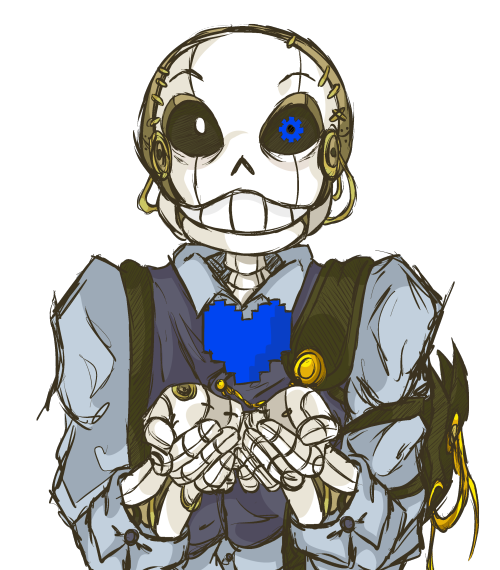 Sans || Understeam /not really into undertale AUs but this one looks cool