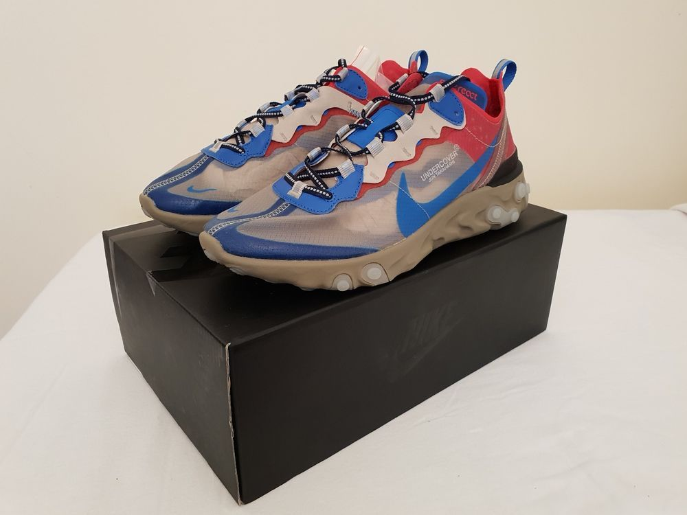 Nike React Element 87 x UNDERCOVER #fashion #clothing #shoes