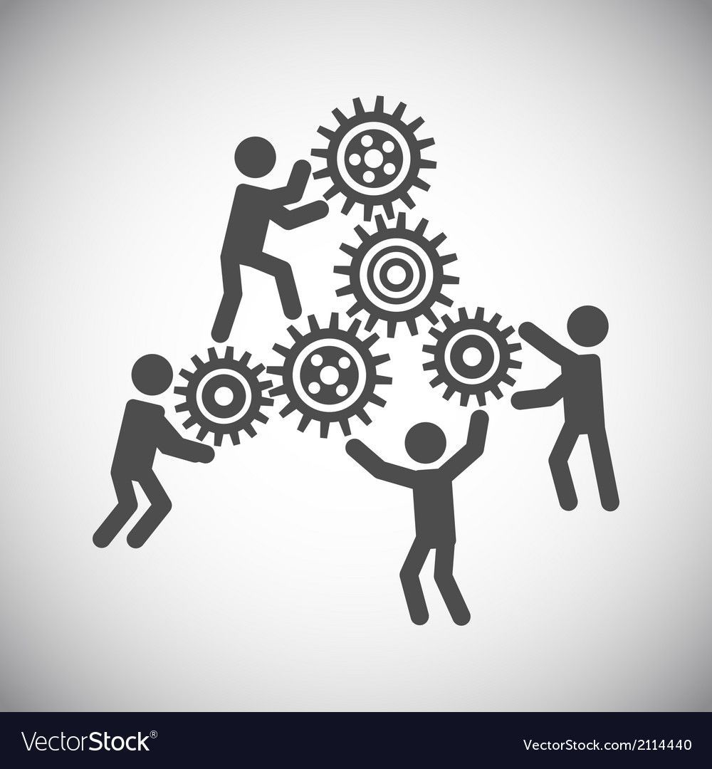 gear teamwork concept lizenzfreie vektorgrafiken aff ge lizenzfrei stock illustration vektorgrafik erstellen adobe vektordatei online