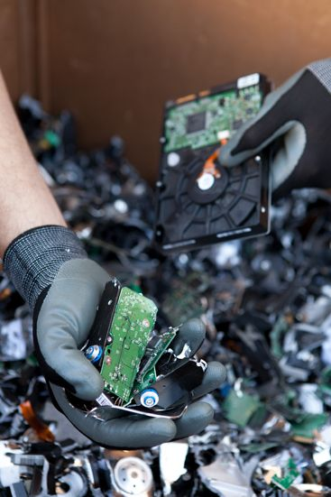 #shredded and #destroyed #harddrives