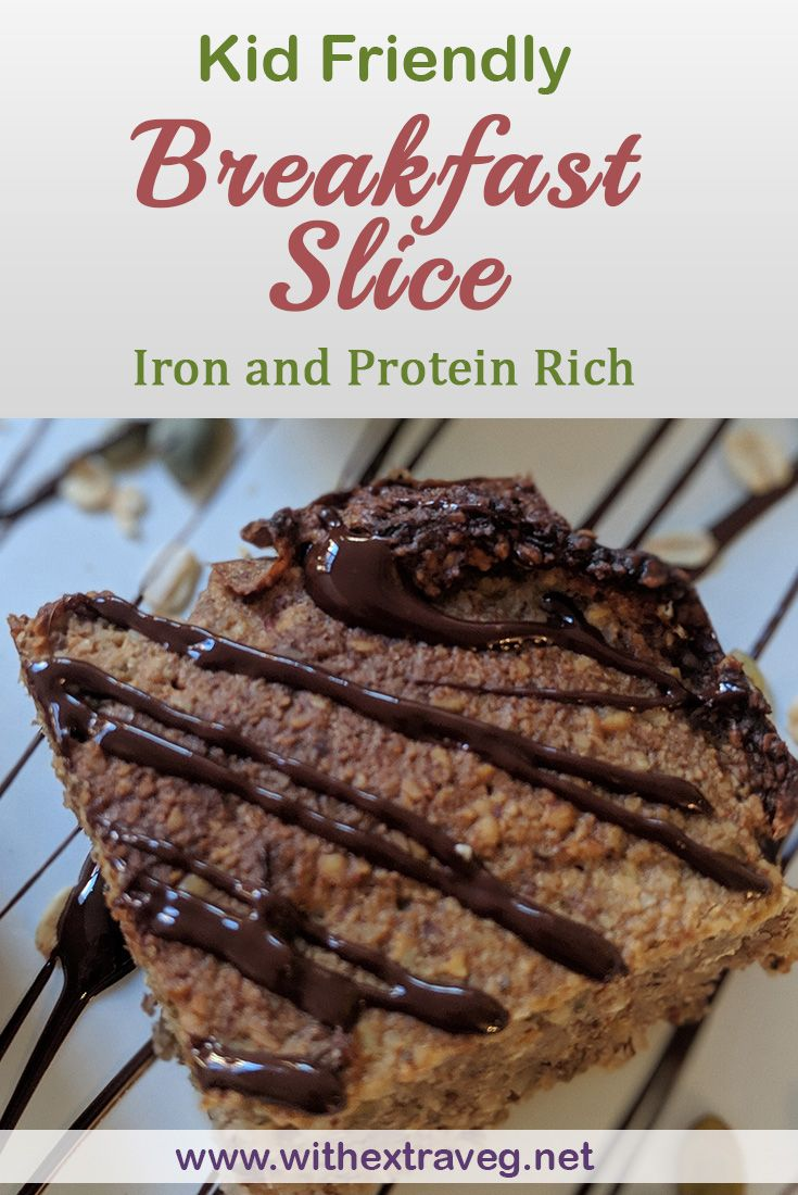 High Iron Breakfast Slice