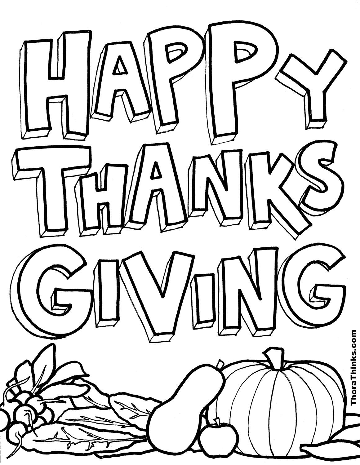 Thanksgiving Coloring Pages Kids | Coloring Pages | Pinterest