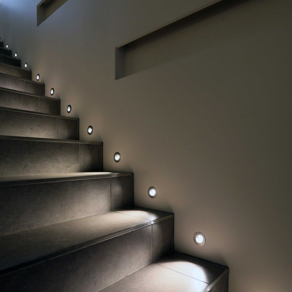 Riena Outdoor Steplight Stair Lights Indoor Staircase Lighting Ideas Stair Lighting