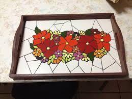 Resultado de imagen para bandeja com mosaico