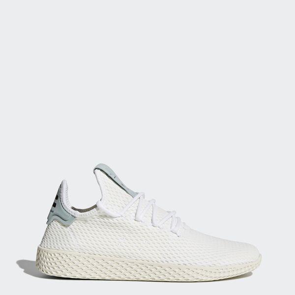 a42b38624486f Pharrell Williams Tennis Hu Shoes Running White   Running White   Tactile  Green BY8716 Williams Tennis
