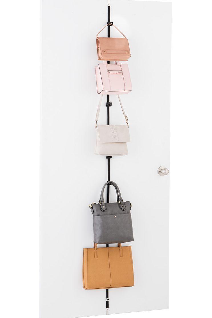 59d747b708 These Are The 10 Most Clever Ways To Store Purses And Handbags ...