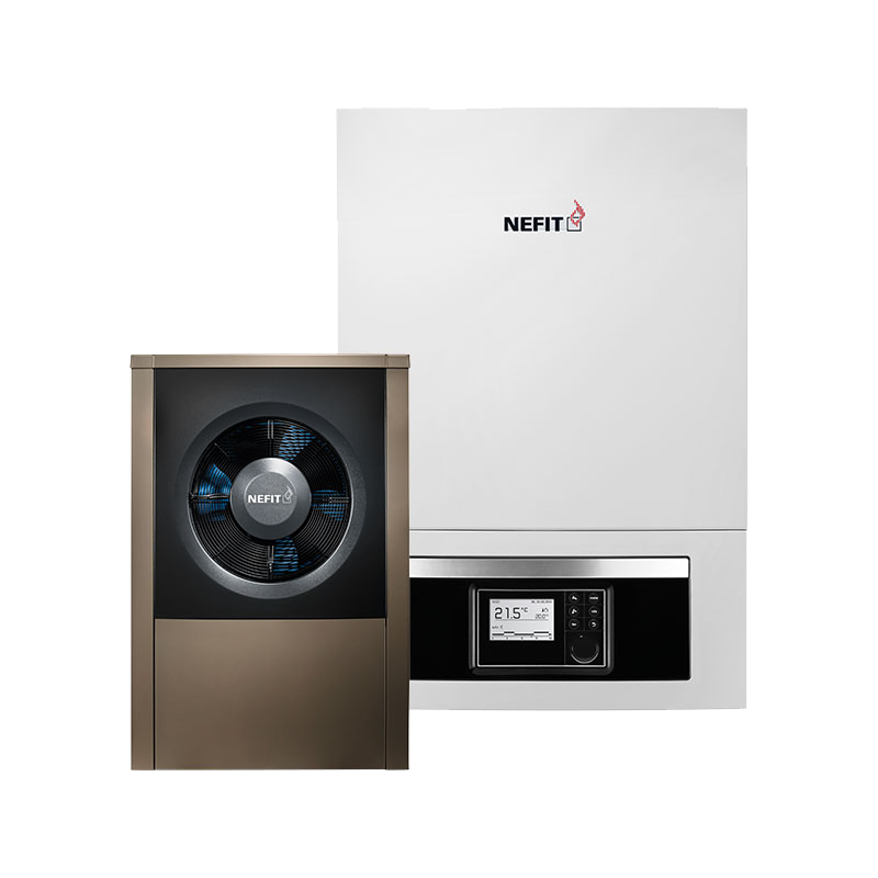EnviLine split warmtepomp Water, Energiebesparing, Lucht