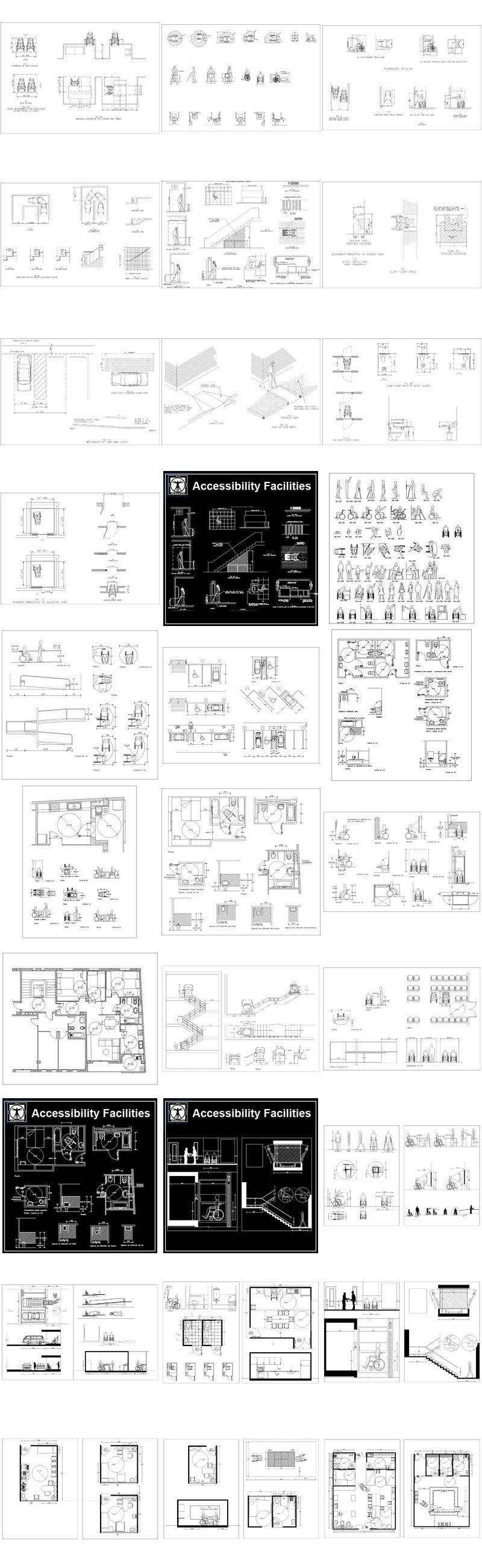 Pin by 建築 當代 on 【Autocad Blocks,Autocad圖塊,AutocadBlöcke
