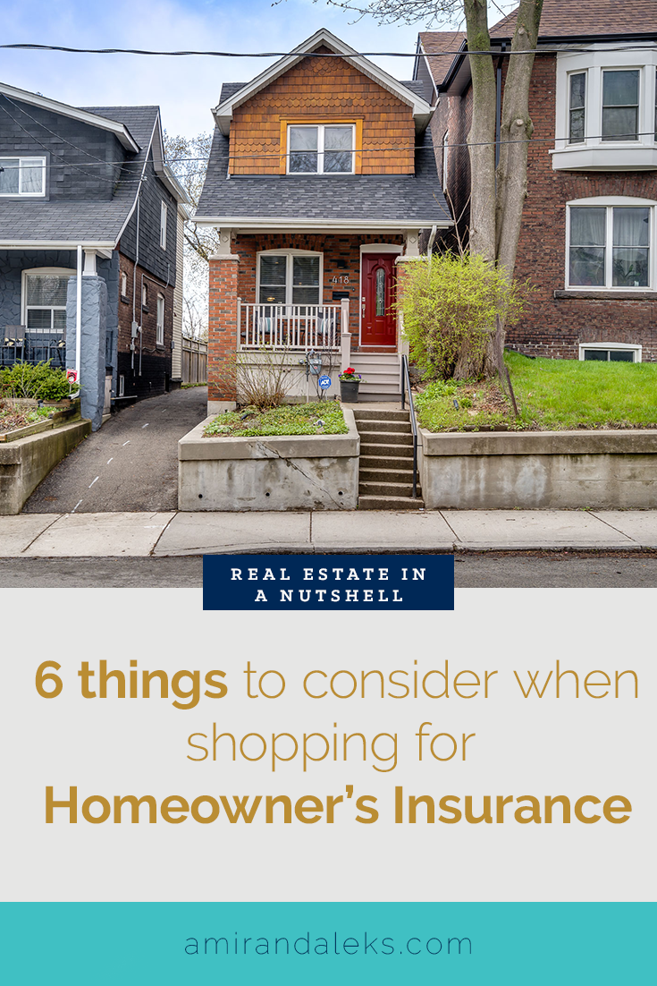 Real Estate In A Nutshell How To Shop For Homeowners Insurance Homeowners Insurance Homeowner Real Estate