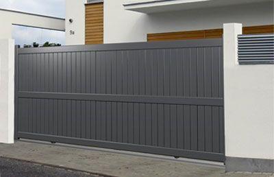 portails coulissants driveway gates pinterest. Black Bedroom Furniture Sets. Home Design Ideas