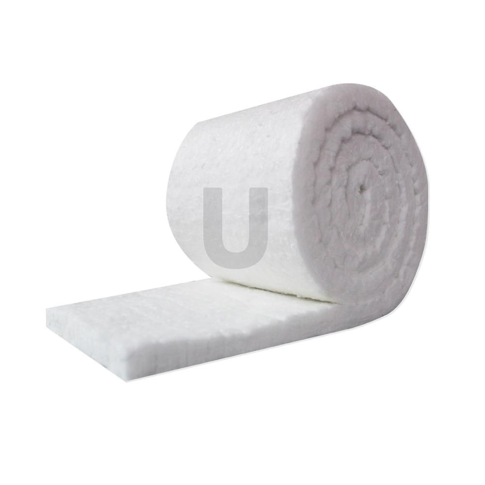 Unitherm Ceramic Fiber Insulation Blanket Roll 8 Density 2300 F 1in X48in X25ft For Kilns Ovens Furnaces Forges Stoves Cf8 1 48x25