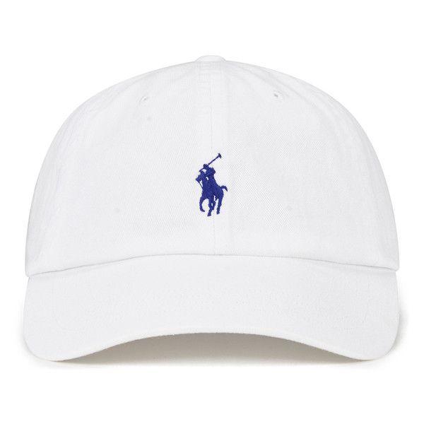 581dea11 Polo Ralph Lauren Men's Classic Sports Cap - White ($31) ❤ liked on Polyvore