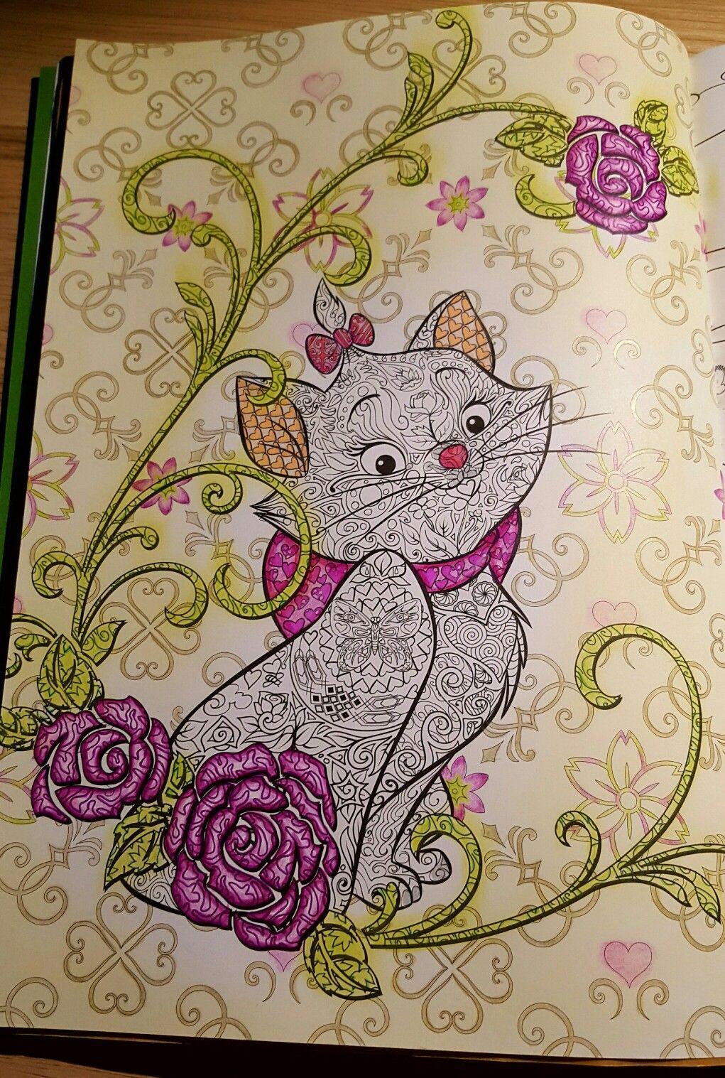 Marie - Le bestiaire extraordinaire - Disney  #arttherapie  #disney