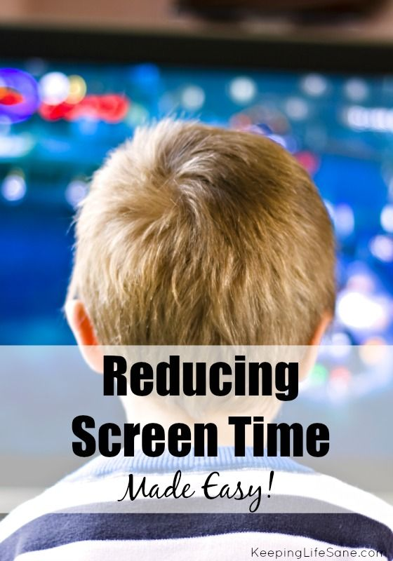 Are your kids on screens to much, but don't know where to start? Here are some great ideas to reduce screen time.- Keeping Life Sane  Another post on screen time here:- http://problemkidsblog.com/2015/01/30/ban-handheld-devices-for-children/