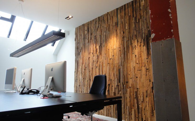 wonderwall: design sfeerwand van redundant hout (highlight 100,