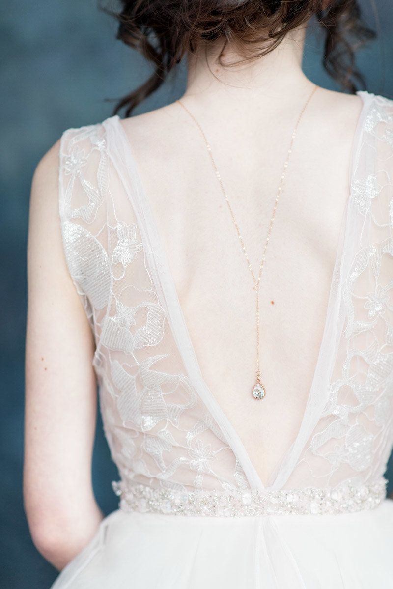 Addison shoulder necklace by blair nadeau millinery photography
