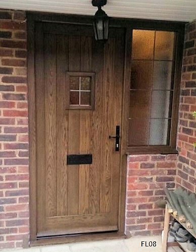 Cottage Style Dark Oak Door Porch Door Designs Pinterest Oak