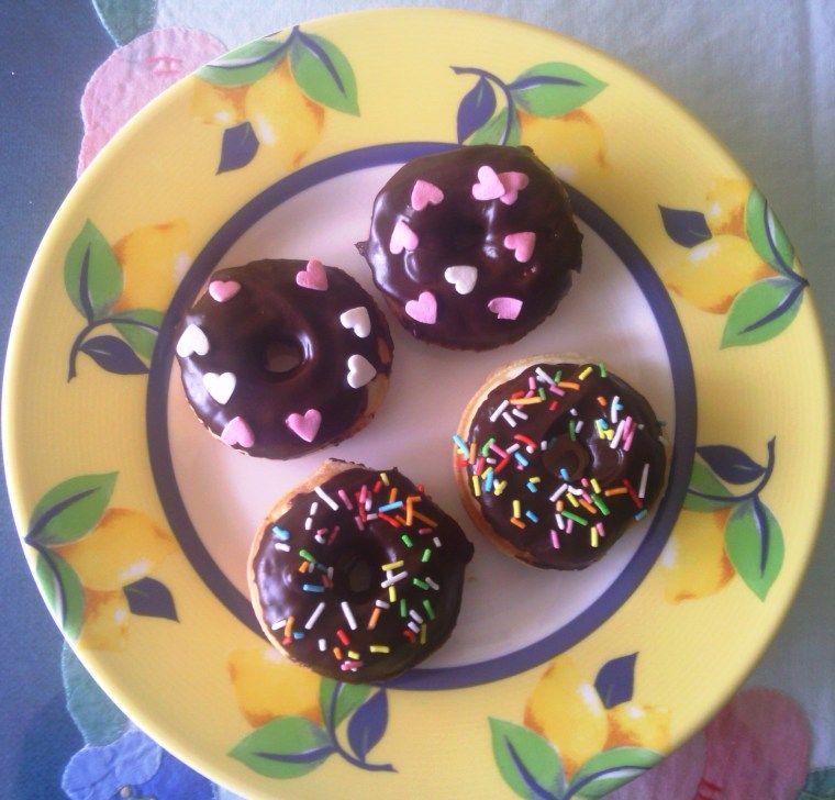 Mini rosquillas sin gluten