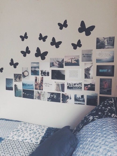 Wall Ideas I Have Erflies Like This On My