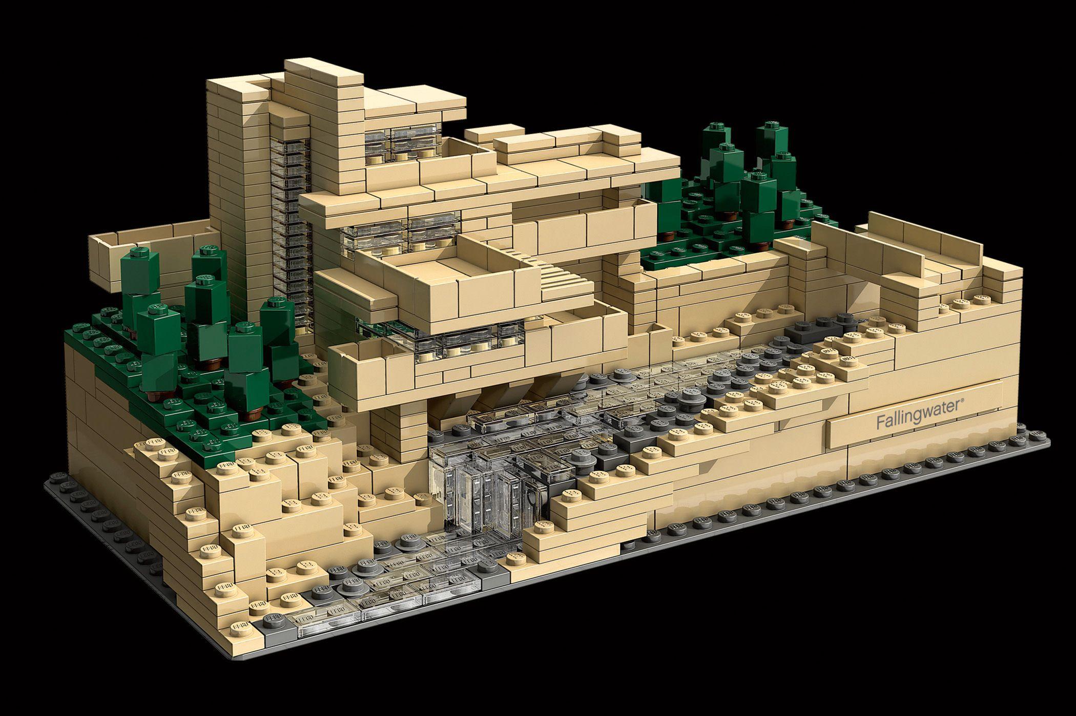 Lego Architecture Arquitectura de lego, Casa de la