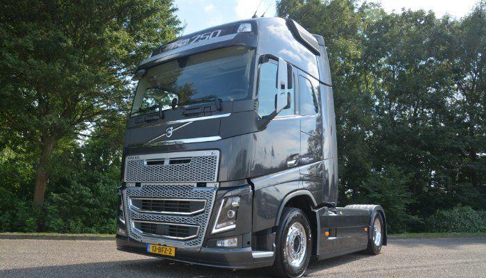 volvo trucks 2015. volvo fh 16 750 hp full option demo truck of 2015 trucks