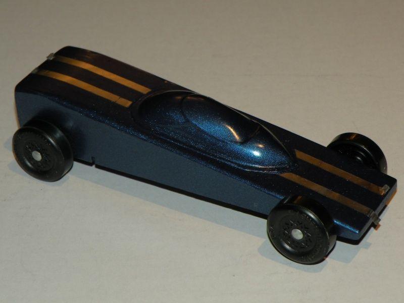 Blue Wedge Pinewood Derby Car | Derby Car Ideas | Pinterest