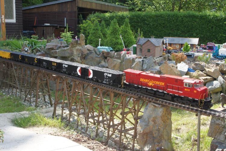 Gartenbahn Lgb 7x Usa Trains 70 Ton 3 Bay Coal Hopper 1 29 M