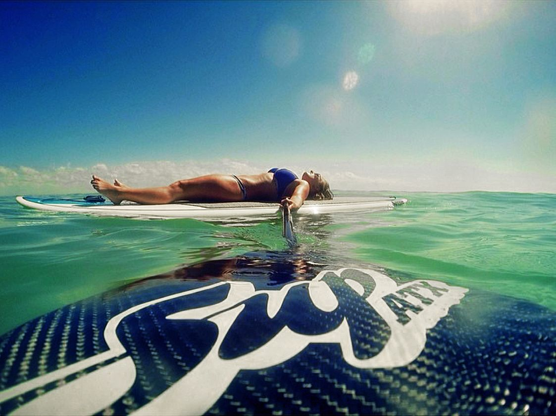 Experience water in a way only possible on a paddle board.  www.SUPATX.com  #supatx #paddleboard #sup
