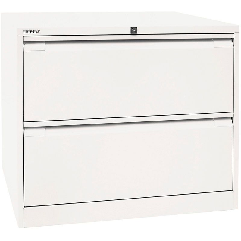 Bisley Classeur Pour Dossiers Suspendus A 2 Rangees 2 Tiroirs Format A4 Blanc Trafic Df2696 Certeo Top Freezer Refrigerator Kitchen Appliances Home Decor