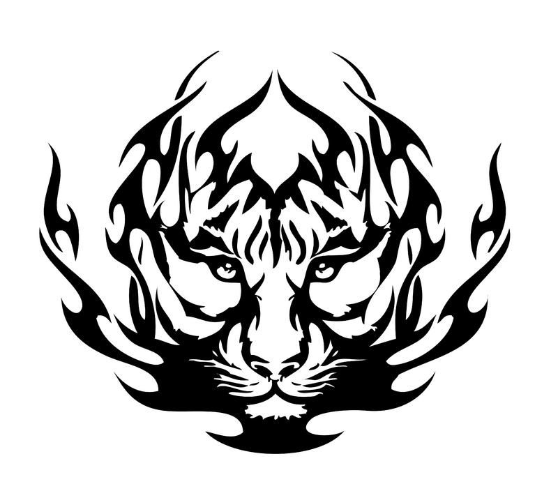 Black Tiger And White Tiger Tattoo 32100 Loadtve