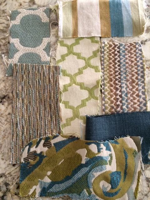 fabric choices for chairs and pillows