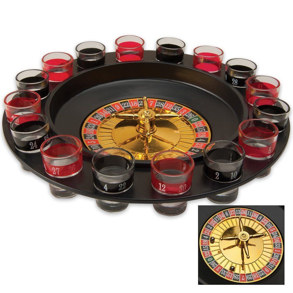 Shot Glass Roulette Drinking Game Set (With images