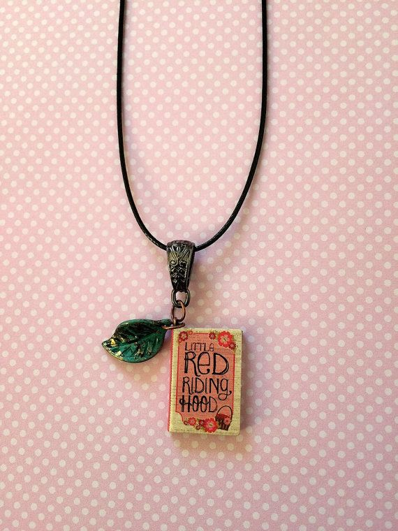 Little Red Riding Hood Storybook Necklace