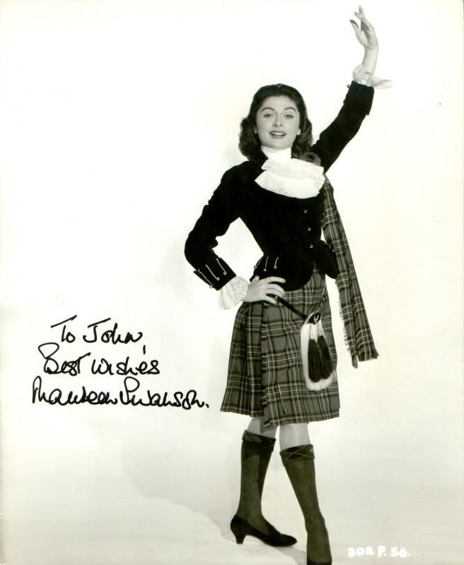 "Scottish actress Maureen Swanson, 1956 publicity still from the movie ""Up In the World"""